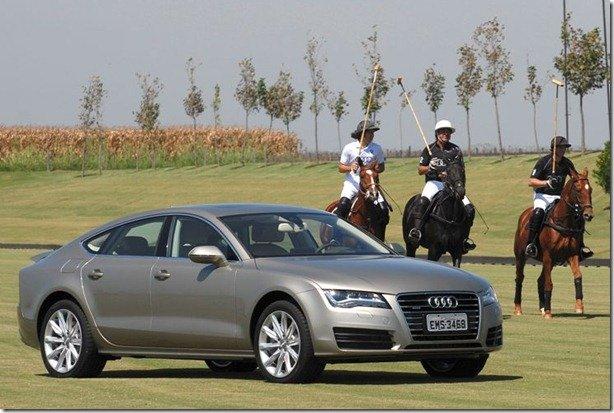 Audi faz avant premiere do A7 no Brasil