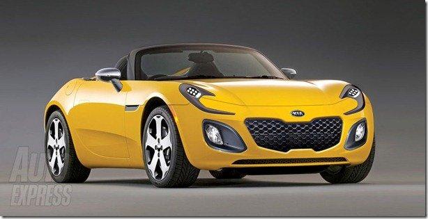Kia planeja um rival para o Mazda MX-5