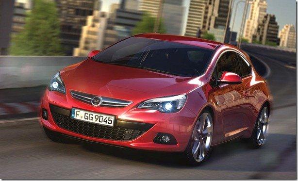 Opel Astra GTC é revelado oficialmente