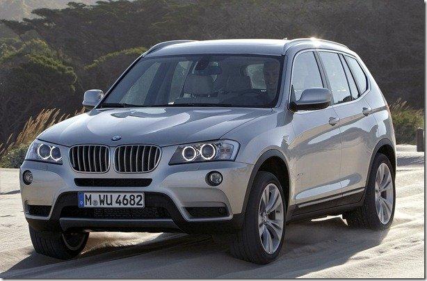 BMW X3 chega por a partir de R$ 212.550
