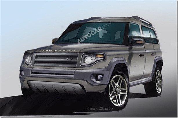 Land Rover já trabalha no  substituto do Defender