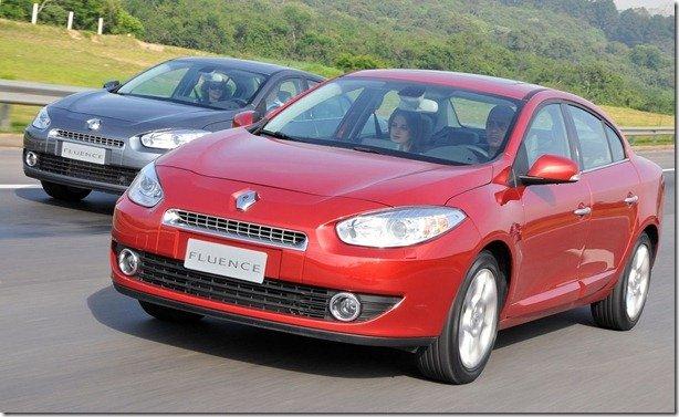 Renault Fluence já está envolvido em recall na Argentina
