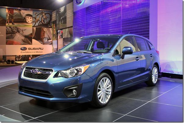 Subaru Impreza 2012 é revelado no Salão de Nova York