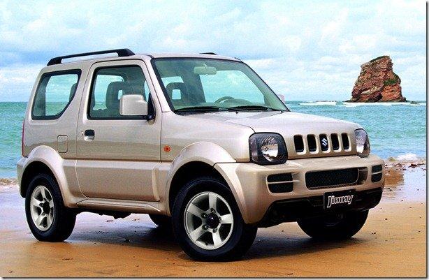 Suzuki Jimny começa a ser fabricado no Brasil no ano que vem