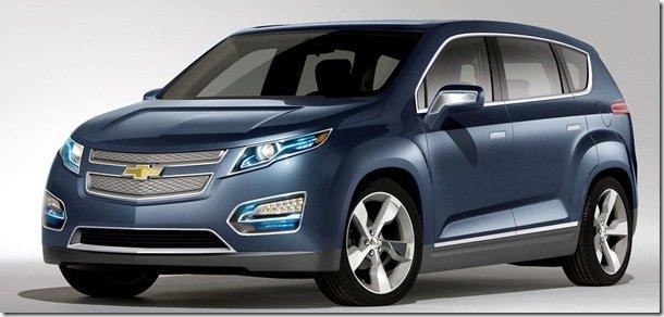 Chevrolet registra nome de Crossvolt para o conceito MPV5
