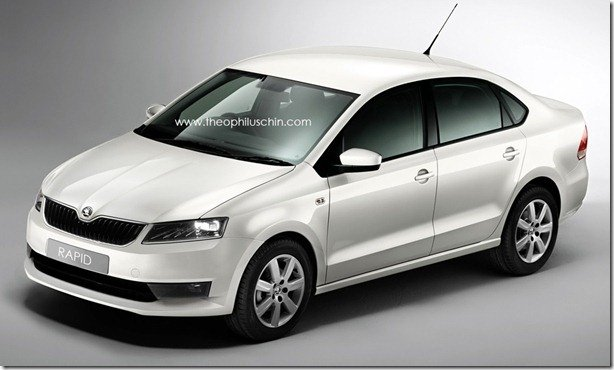 "Skoda Rapid: a versão ""Skoda"" do Polo Sedan"