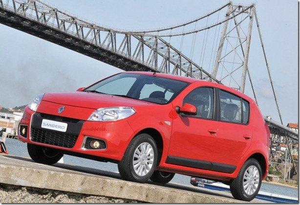 Oficial: Renault Sandero 2012 custa à partir de R$ 28.700