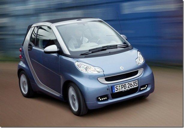 Smart lança ForTwo 2012 com GPS na versão mais cara