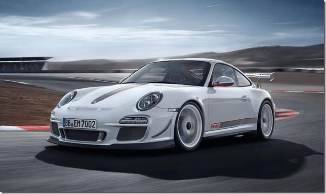 Porsche 911 GT3 RS 4.0 chega ao Brasil no final deste ano