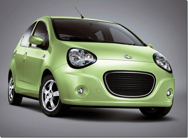 Geely terá fábrica no Uruguai para produção de hatch pequeno