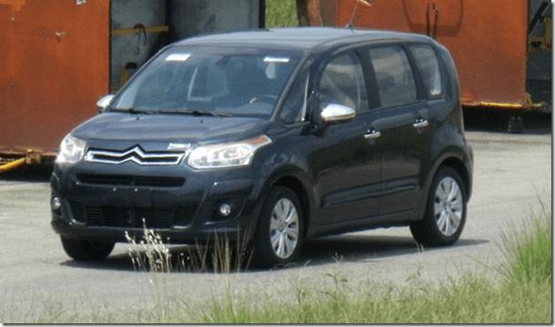 Citroën C3 Picasso será lançado nos dias 23 e 24 de maio