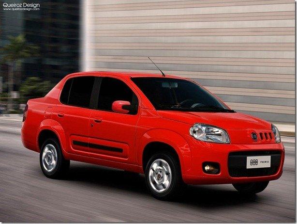 Nova Premio? – Fiat estuda o lançamento de um Uno Sedan