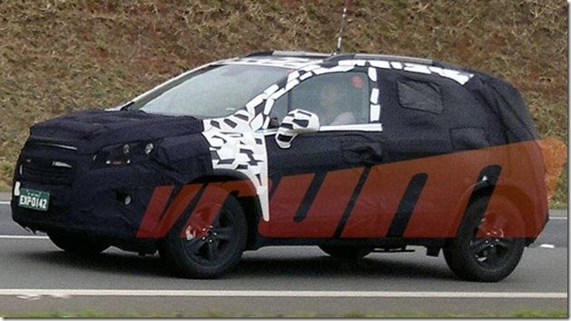 "Chevrolet ""Mini Captiva"" é flagrado no Brasil"