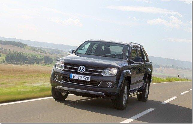 Volkswagen Amarok ganha câmbio automático no início de 2012