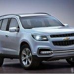 Nova Chevrolet Blazer estará no Salão de Dubai