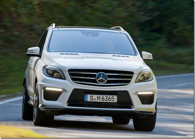 Este é o Mercedes ML63 AMG 2012