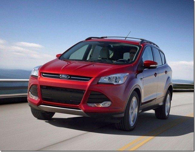 Ford revela o Escape 2013 – O novo Kuga