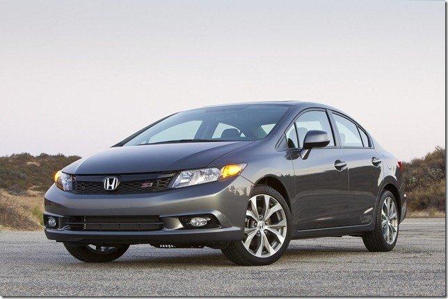 Honda assume culpa pelo mau desempenho do Civic nos EUA