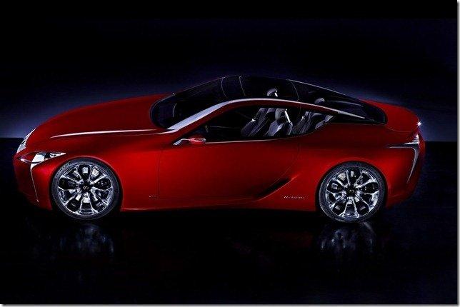 Lexus revela o conceito LF-LC