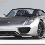 Mais detalhes do Porsche 918 Spyder