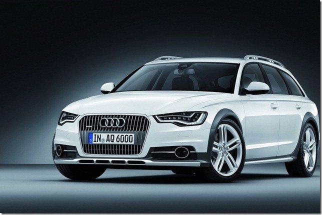 Audi mostra o novo A6 Allroad Quattro