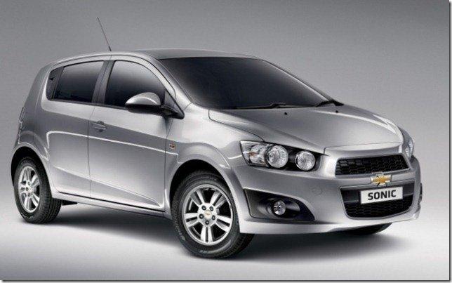 Chevrolet Sonic terá motor 1.6 flex de até 120 cv