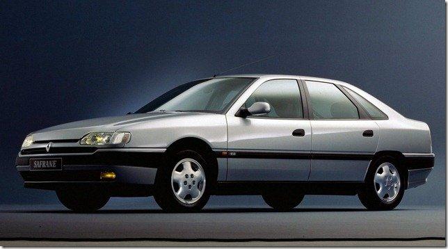 Renault Safrane: Grand routière avec elegance