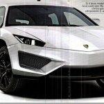 SUV da Lamborghini está confirmado