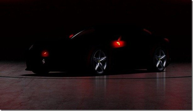 Ferrari F620 será mostrada no dia 29, e tem teaser revelado