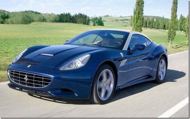 Ferrari Califórnia 2012 tem melhorias técnicas