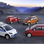 Volkswagen mostrará quatro novas versões do Up! em Genebra