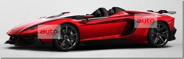 Primeiras imagens do Lamborghini Aventador J?