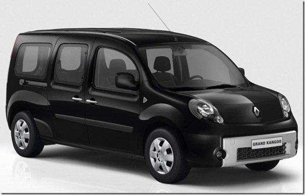 Renault Grand Kangoo com sete lugares para a Europa