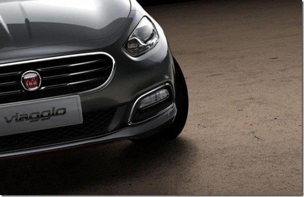 Fiat Viaggio aparece em teasers