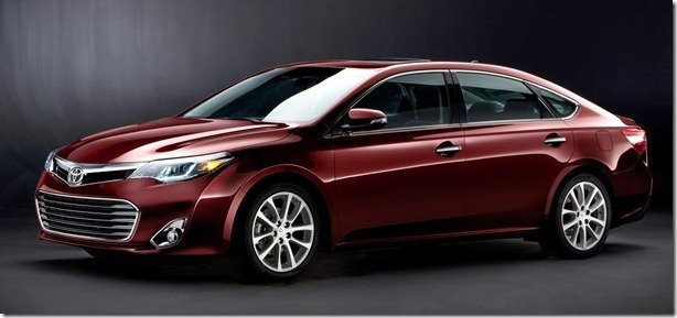 Toyota revela o Avalon 2013