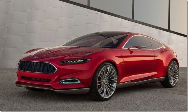 Novo Ford Mustang será baseado no Evos