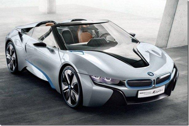 BMW i8 Spyder estará no Salão de Pequim