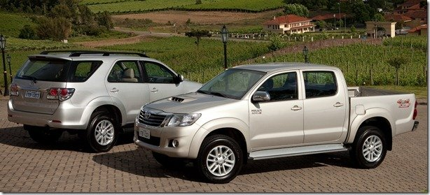 Toyota Hilux e SW4 2012 ganham motor diesel mais potente