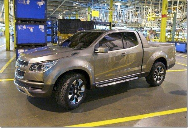 Chevrolet S10 também será fabricada nos EUA