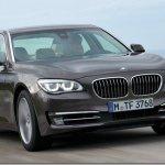 BMW Série 7 tem novidades na linha 2013