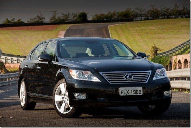 Conheça o LS460 L, modelo mais luxuoso da Lexus a chegar ao Brasil