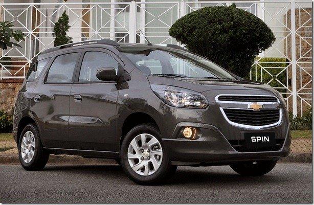 Chevrolet continua renovação e apresenta Spin, que custa a partir de R$ 44.590