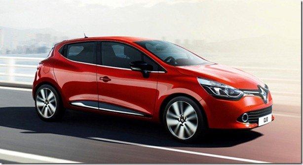 Novo Renault Clio surge em primeira imagem oficial