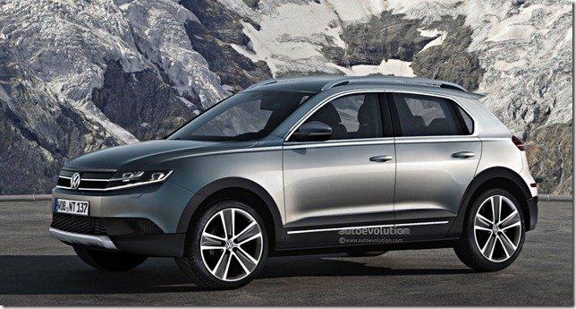 Volkswagen prepara dois SUVs compactos