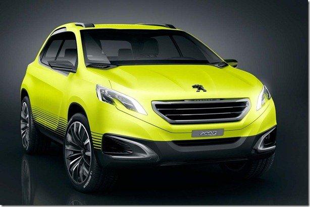 Peugeot 2008 Concept tem imagens divulgadas