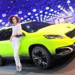 Peugeot 208 e 2008 estarão no Salão do Automóvel