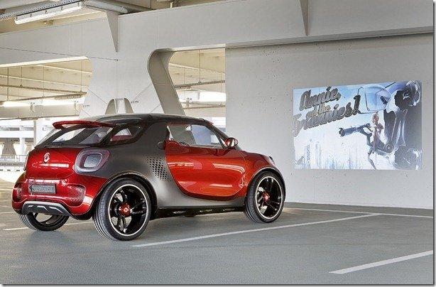 Conceito, Smart forstars pode transformar qualquer lugar em drive-in