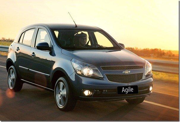 Chevrolet Agile ganha câmbio Easytronic  como opcional