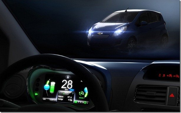 Chevrolet Spark EV estará em Los Angeles