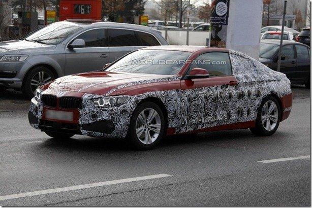 Primeiro flagra do BMW Série 4 de produção